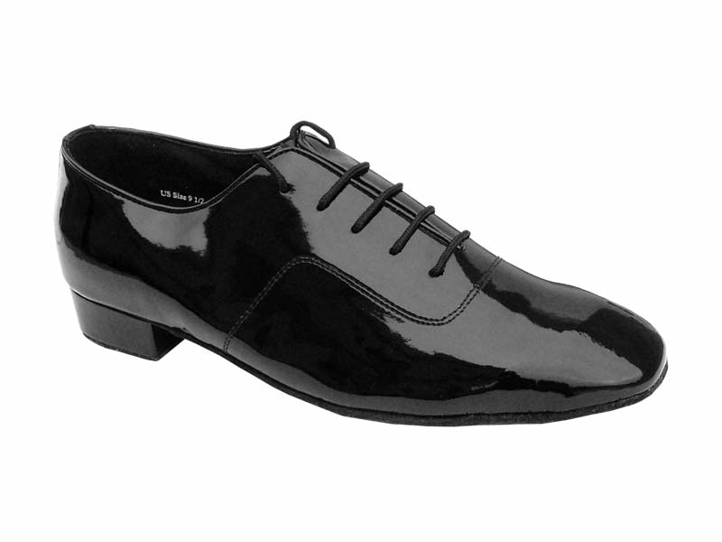 Men's Standard & Smooth - Very Fine Classic - 917101 - Black Patent