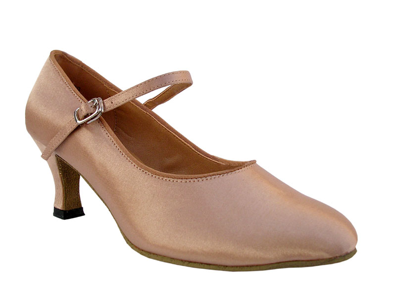 Ladies' Standard & Smooth - Very Fine Classic   - 3008 - Light Brown Satin