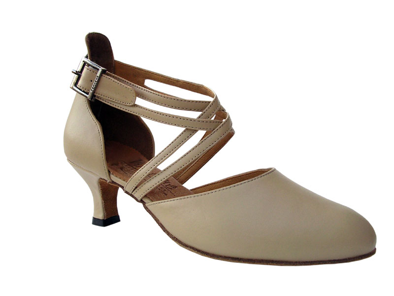 Ladies' Standard & Smooth - Very Fine Signature - S9110 - Beige Leather