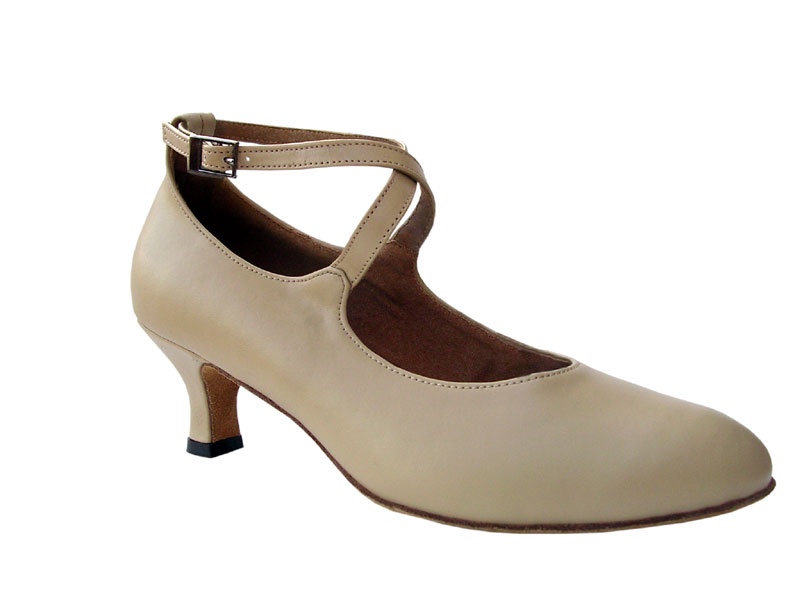 Ladies' Standard & Smooth - Very Fine Signature - S9120 - Beige Leather