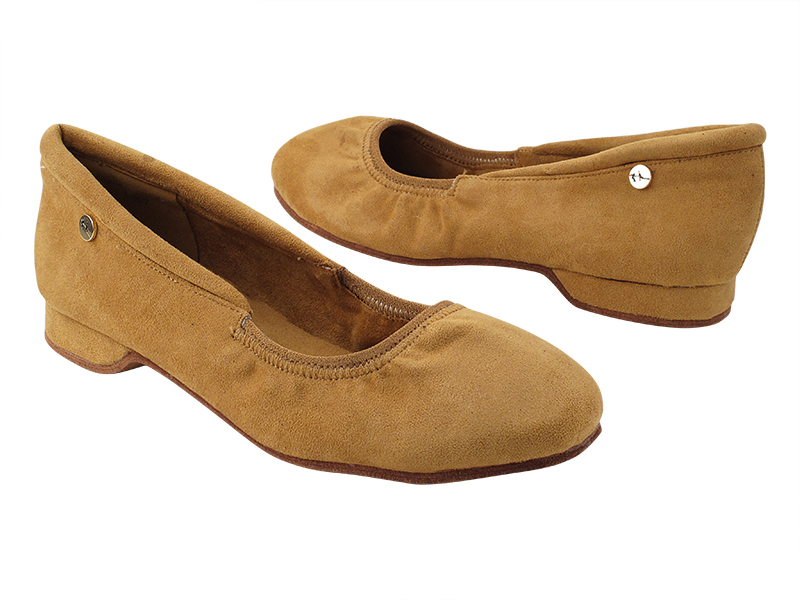 Procomfort20 Brown Oxford Nubuck with flat EVA heel in the photo