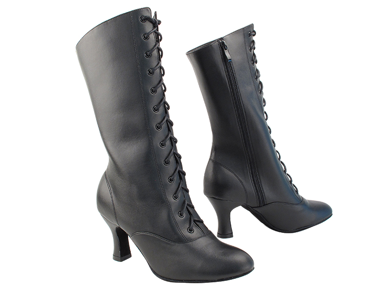 VFBoot ClassicCanCan Black Leather with 2.5