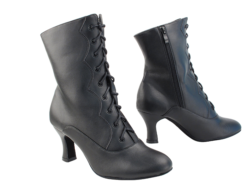 VFBoot NVSCCanCan Black Leather with 2.5