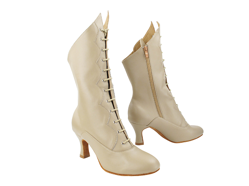 VFBoot SERACanCan Beige Leather with 2.5