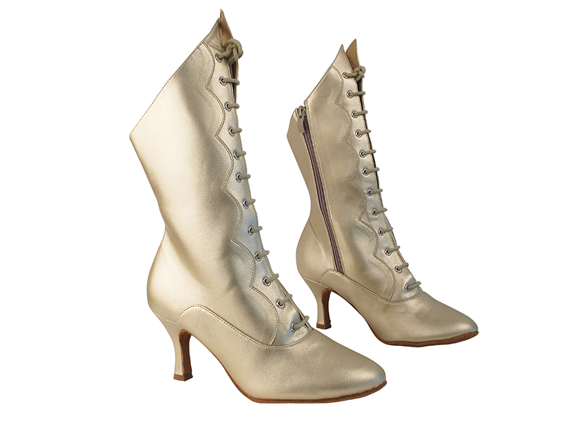 VFBoot SERACanCan Light Gold Leather with 2.75