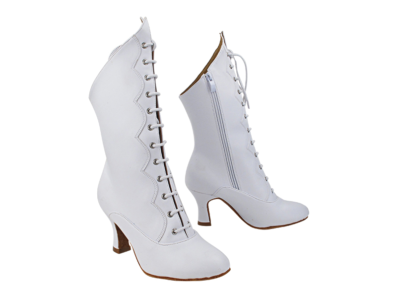 VFBoot SERACanCan White Leather with 2.5