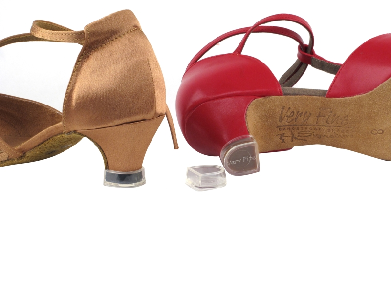Latin dance shoes Latin shoes heel protectors stoppers