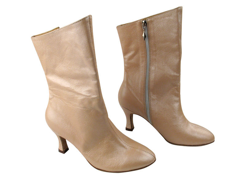 VFBoot PP205A Ankle Bootie Light Tan Light Leather with 2.75