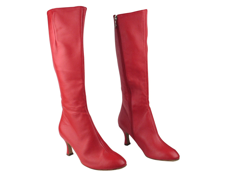 VFBoot PP205 Red Leather with 2.75