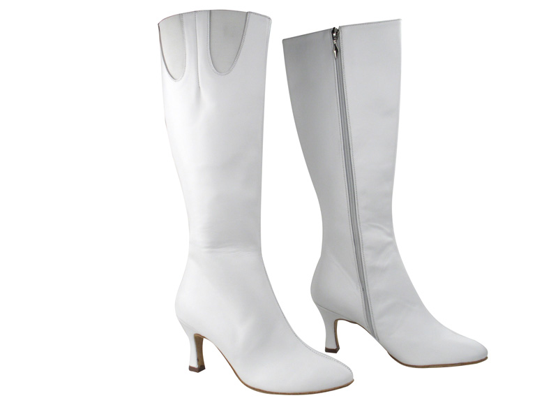 VFBoot PP205 White Leather with Elastic with 2.75