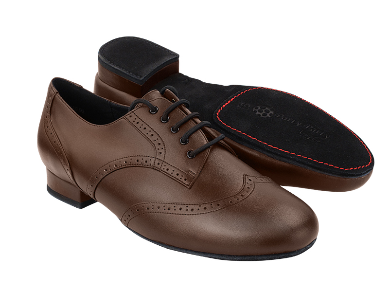 PP301DB Dark Tan Leather with 1