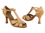 S2806 Tan Satin Vegan
