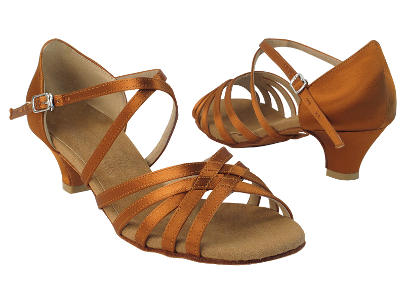 S9216 Copper Tan Satin with 1.2