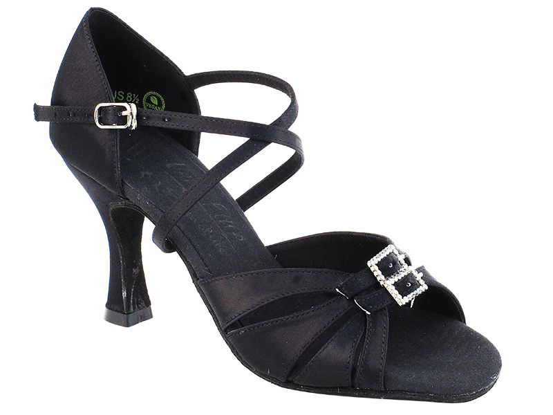 S92307 Black Satin with 3