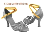 X-Strap Ankle with loop