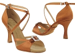 SERA1110 Dark Tan Satin