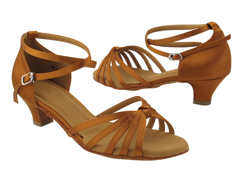 SERA6005 Dark Tan Satin with 1.3