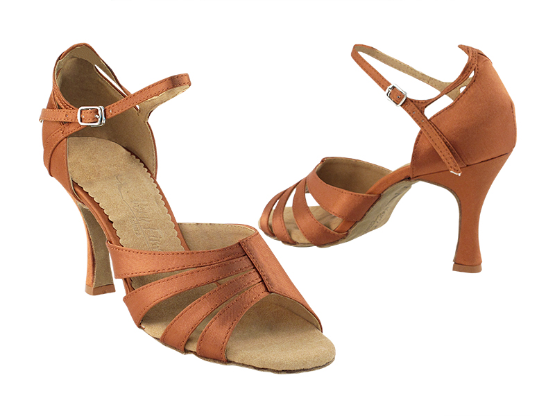 SERA1680 Dark Tan Satin