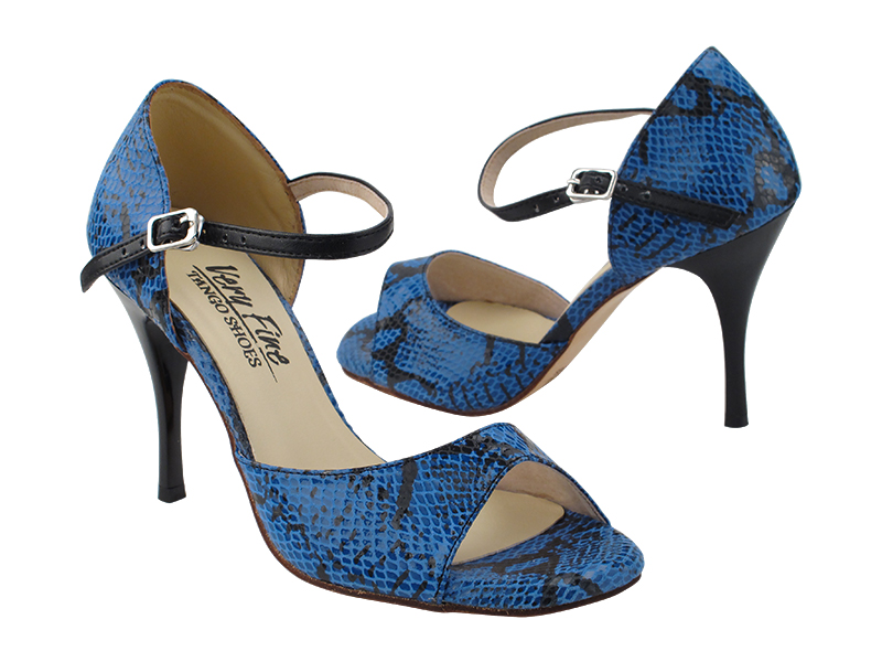VFTango 001 Blue & Black Snake with 3.5
