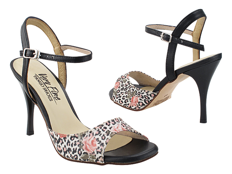 VFTango 022 Flower Leopard Leather with 3.5