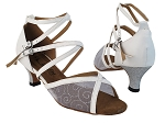 1630 White Leather_Silver Mesh_Stardust Heel