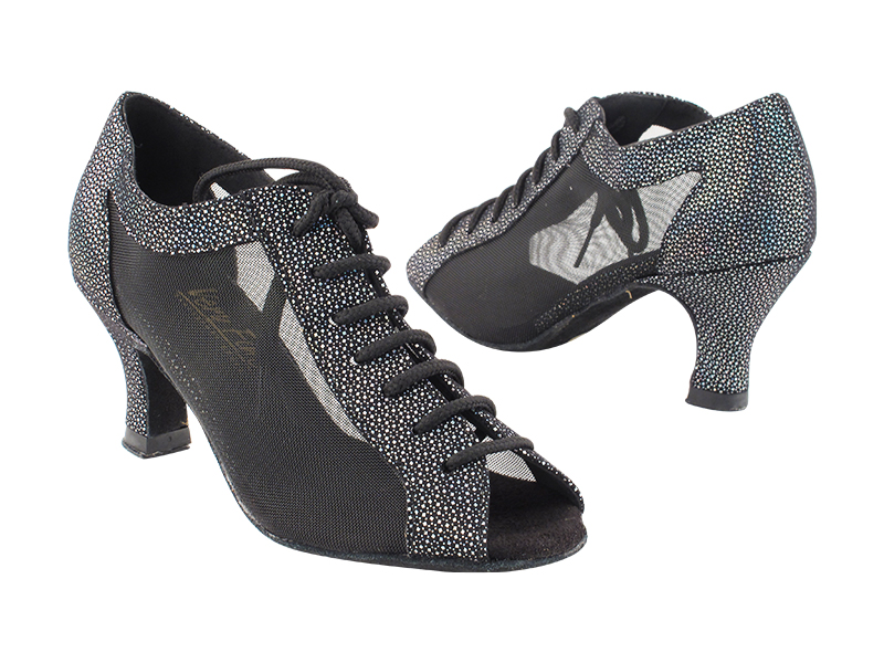 1643 322 Black Iridescent Diamond_Black Mesh with 2.5