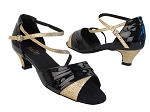 1659 58 Black Patent_125 Gold Stardust_S_H