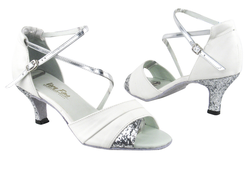 1659 White Leather_7 Silver Sparkle_H_Silver Leather_S