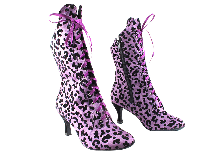 VFBoot SERACanCan Purple Leopard with 3