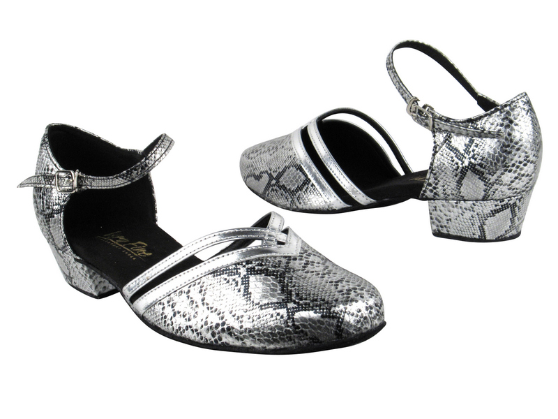 8881 250 Silver Snake_Silver Leather Trim