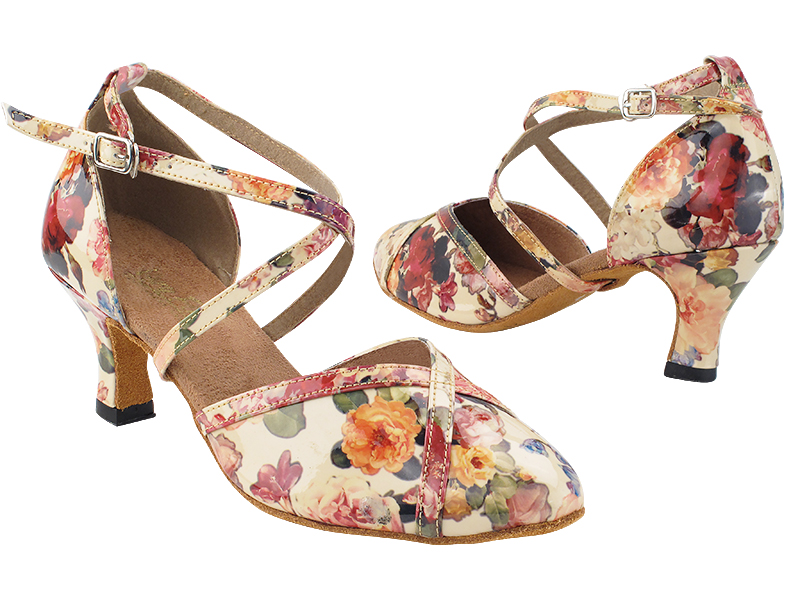 9622 287 Flower PU whole shoes with 2.5