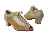 C1643 219 Beige Faux Leather