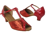 S2804 37 Red Sparkle_264 Red Patent Trim_B