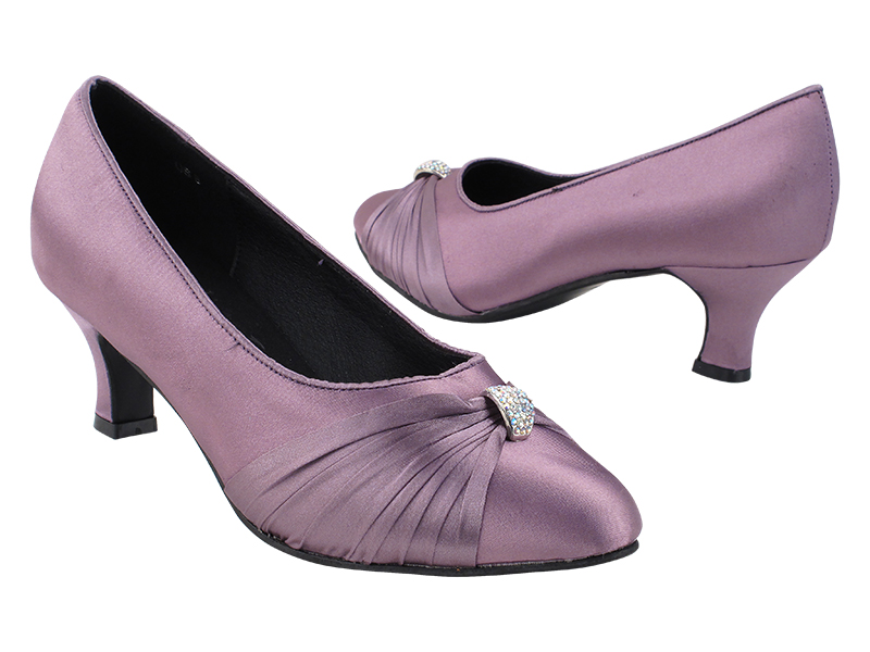 S9169 182 Lavendar Satin with 2.5