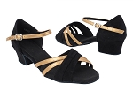 SERA6030 73 Black Nubuck_T_B_216 Copper Nude Leather_S