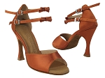 SERA7005ESS 210 Dark Tan Satin without Bowtie (Front Only)