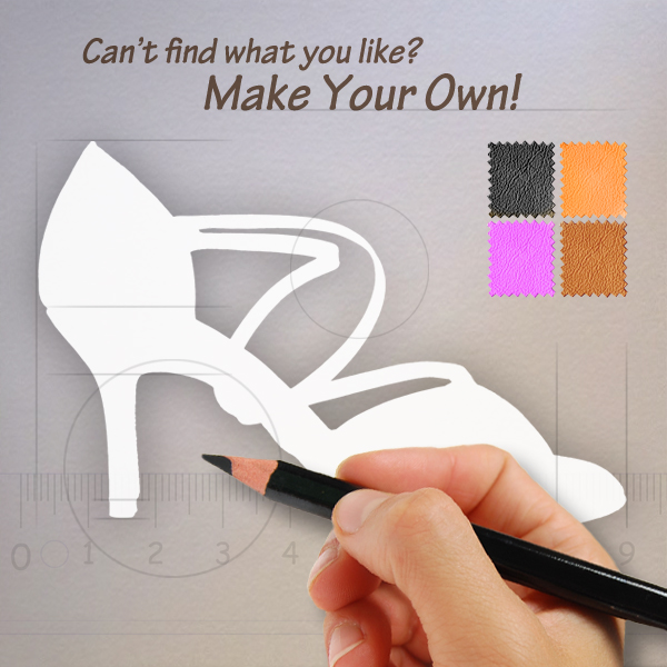 Make Your Own Shoes (Women's Shoes)