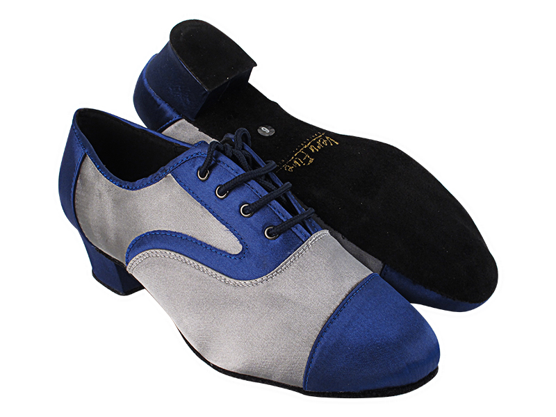 916102 301 Dark Blue Satin_F_B_263 Grey Satin_M with 1.5