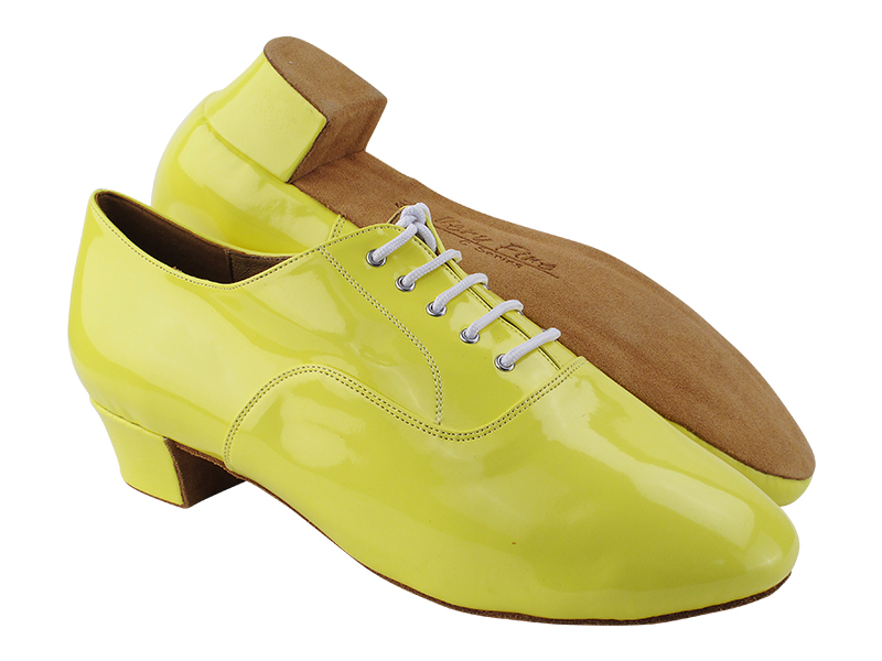 C915108 226 Fluorescent Grass Yellow Patent with Men 1.5