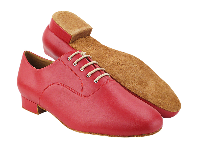 C919101 217 Red Leather with Men 1