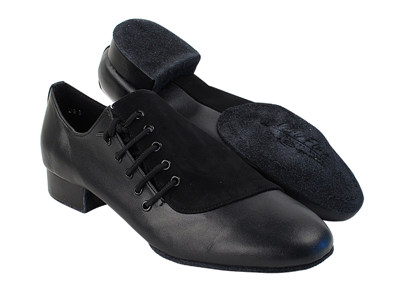 S2519 Black Leather_Black Nubuck with 1