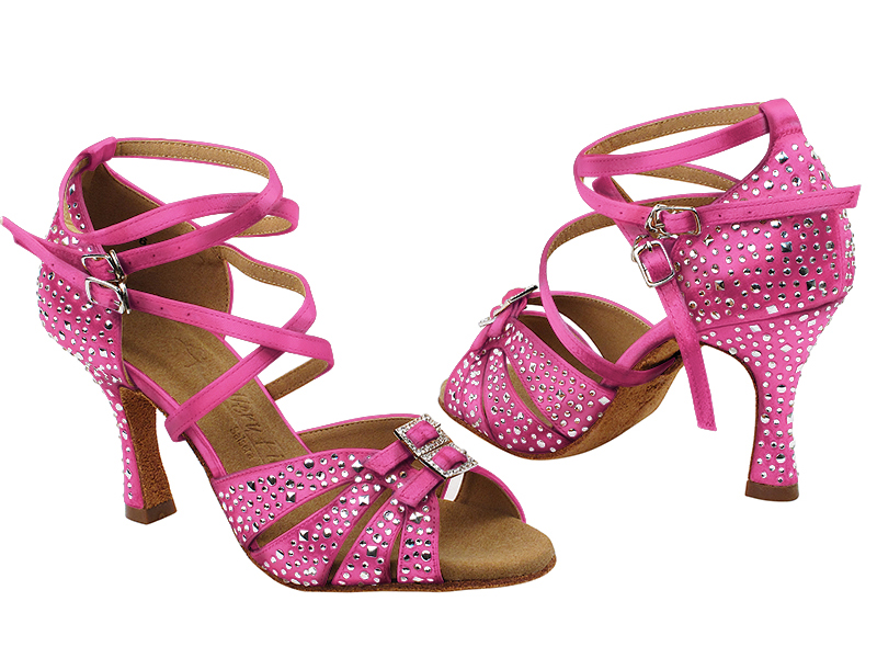 S92307MSC 121 Rose Satin with (YQG) 3 inch Heel in the photo