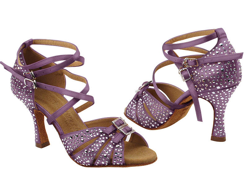 S92307MSC 182 Lavender Satin with (YQG) 3 inch Heel in the photo