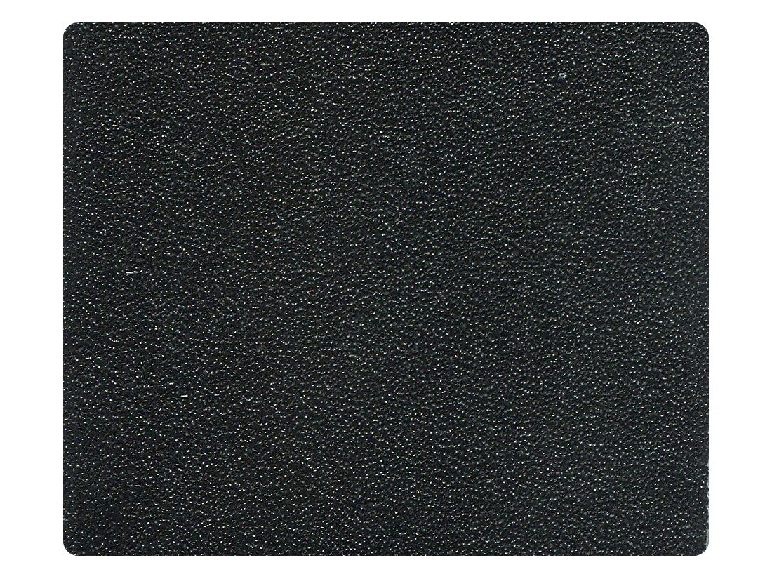 14 Black Leather Fabric Swatch