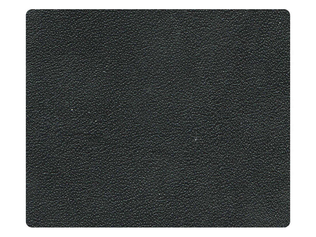 16 Black Leather Fabric Swatch