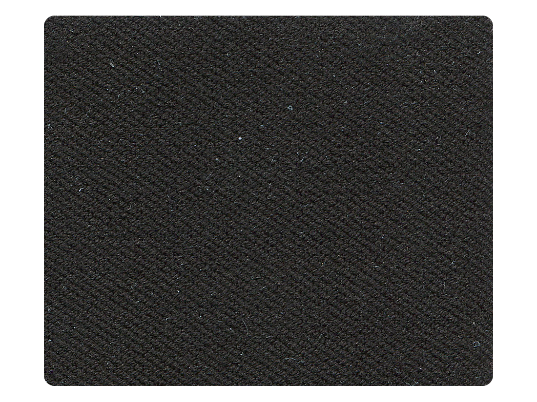 235 Black Spandex Fabric Swatch