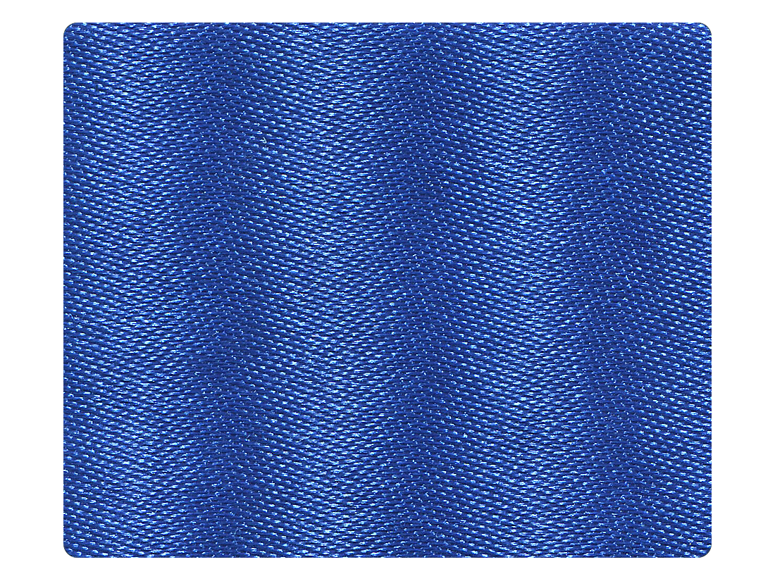 247 Gem Blue Satin Fabric Swatch