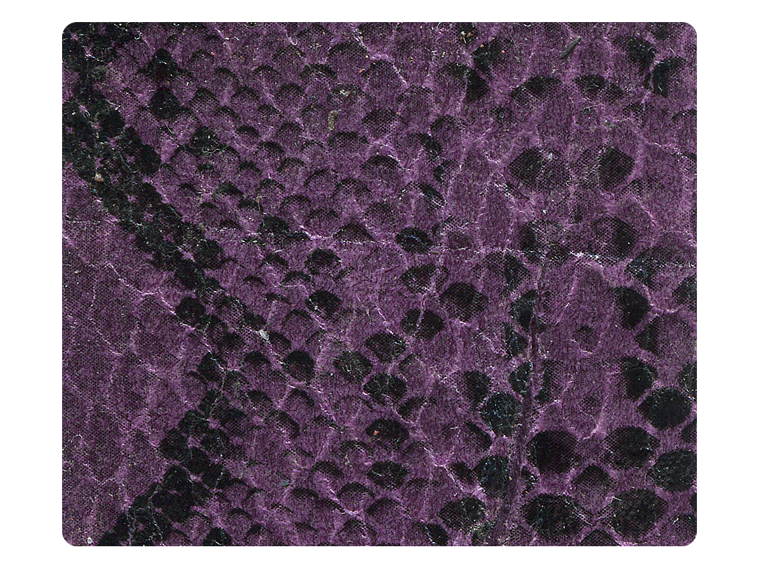 252 Purple Snake Fabric Swatch