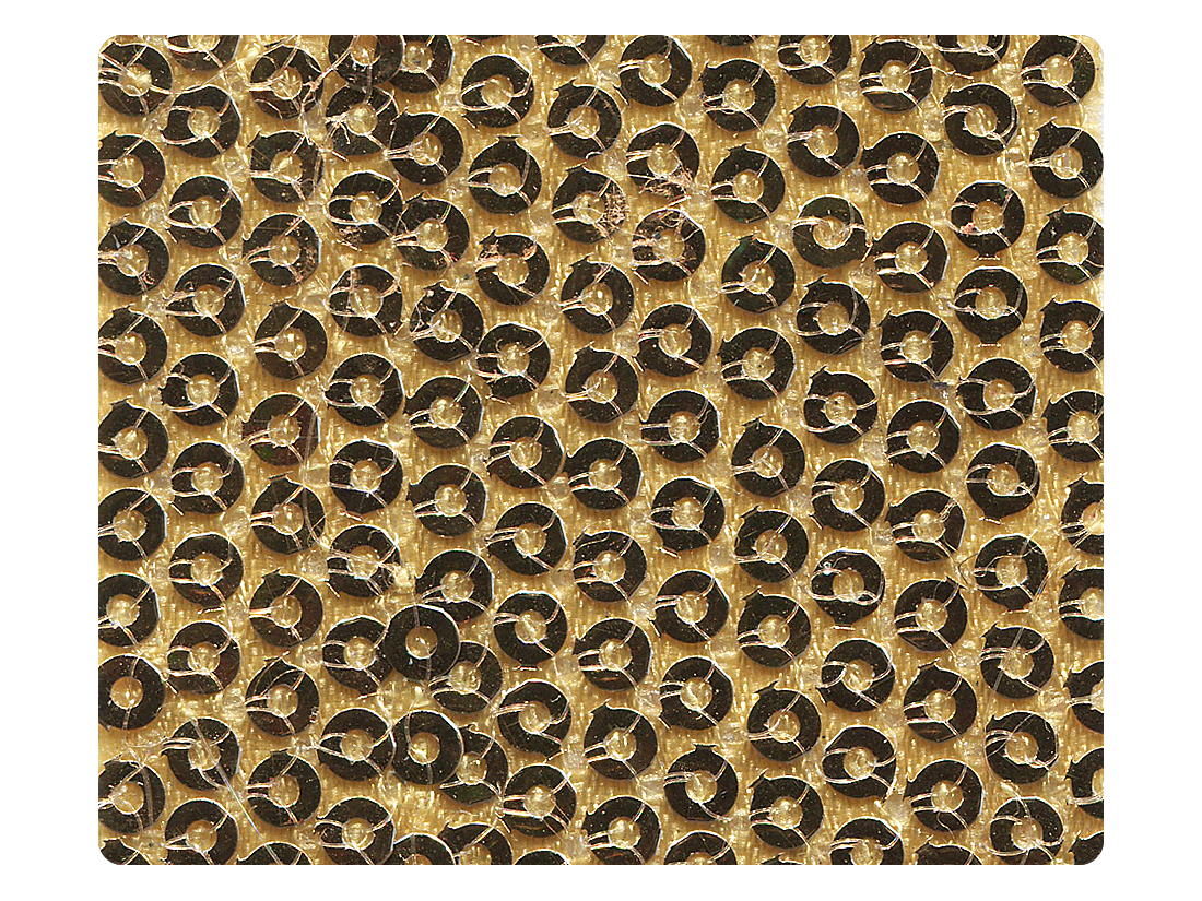 256 Gold Fabric Swatch