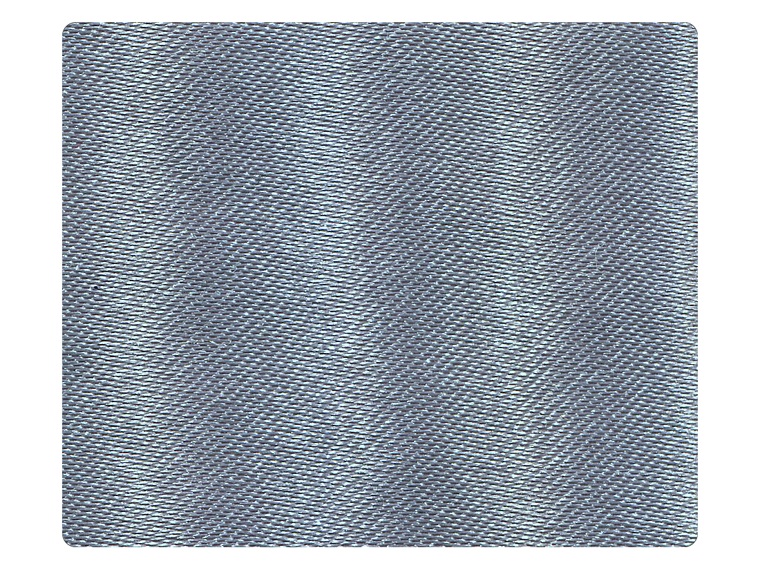263 Grey Satin Fabric Swatch